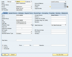 Brewery Management System Customer